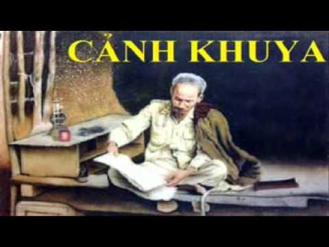 """Phát biểu cảm nghĩ về bài thơ """"Cảnh khuya"""" của Hồ Chí Minh"""