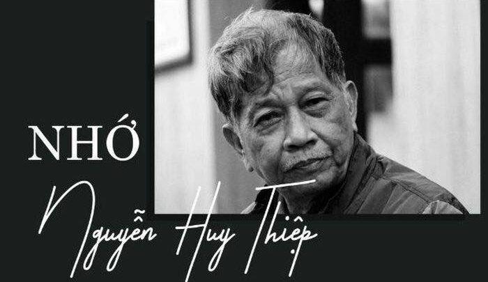 Tròn 1 tháng nhà văn Nguyễn Huy Thiệp ra đi (20/03/2021 – 20/04/2021)